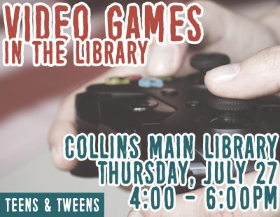 Teen Thursdays: Library's Got Game
