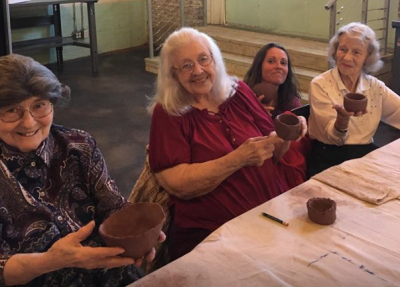 Thomasville Center for the Arts Senior Moments Art Class