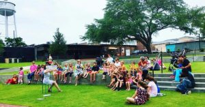 Tuesdays at the Amphitheater: Story Time with The Bookshelf