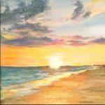 Senior Moments Art Class | Beach Landscape