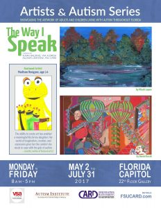 """The Way I Speak: Artists and Autism"""