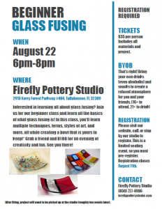 Beginner Glass Fusing