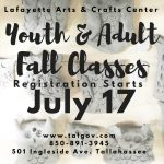 Fall Youth & Adult Classes
