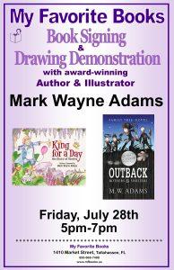 Mark Wayne Adams Book Signing & Drawing Demons...