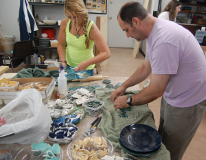 Public Open Studio | Military Mosaic