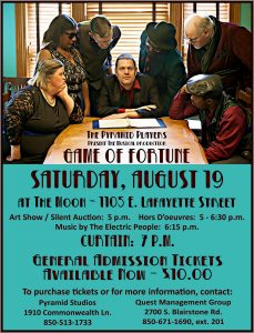The Pyramid Players present Game of Fortune