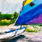 Thomasville Center for the Arts Whet Your Palette: Sailboat