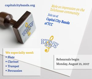 Join the Capital City Bands for the 2017-2018 Seas...