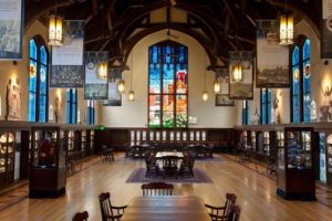 Opening for stained glass artist at FSU Master Cra...