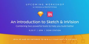 Intro to Sketch & Invision Workshop