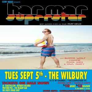 Har Mar Superstar w/ Buster Wolf, Magpie, Pool Kids, & Owl Party