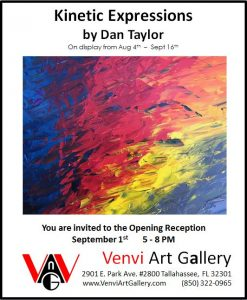 Kinetic Expressions - First Friday art reception