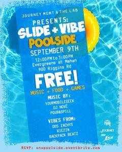 Journey MGMT & The LAB presents: SLIDE + VIBE: Poolside