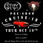Classic Car Cruise-In Pre-Show for the Styx ft. the Outlaws