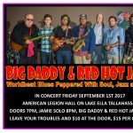 Big Daddy & Red Hot Java with special guest Jamie Eubanks