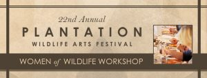 Women of Wildlife: Visual Art Workshop - Plantation Wildlife Arts Festival