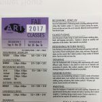Oglesby Art Center presents Fall 2017 Art Classes