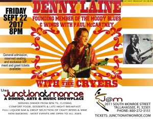 Denny Laine (Moody Blues and Wings) with The Cryers