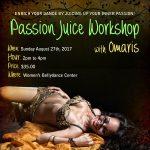 Passion Juice Workshop - Belly Dance