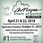 Apply Now for LeMoyne Chain of Parks Art Festival