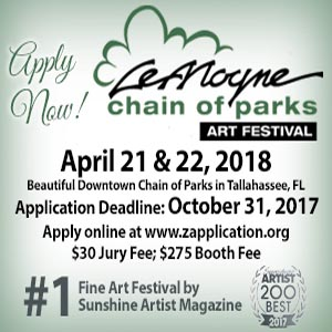 Apply Now for LeMoyne Chain of Parks Art Festival