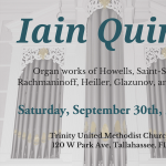 Organ Recital by Dr. Iain Quinn