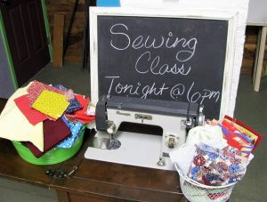 Level 2 Sewing Class