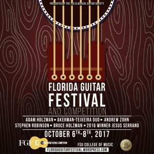 Florida Guitar Festival Opening Concert featuring 2016 Competition Winner Jesus Serrano