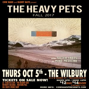 The Heavy Pets w/ Taller Trees & Mind Medicine