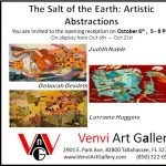 The Salt of the Earth: Artistic Abstractions art opening