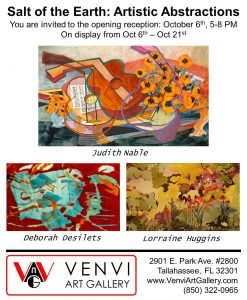 Salt of the Earth: Artistic Abstractions art opening