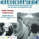 "Changing America — Exhibit Opening and ""History Hop"""