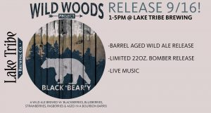 Wildwoods Project Release #6 - Black 'Bear'y