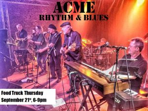 Food Truck Thursday with Acme Rhythm & Blues