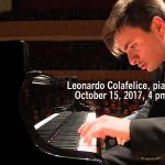 Leonardo Colafelice, piano