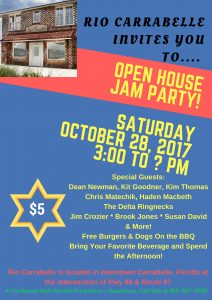 Open House Jam Party