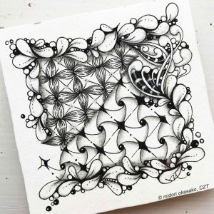 Lose Yourself in Zentangle, Introduction 4-Week Wo...