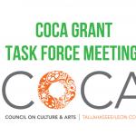Community Meeting - COCA Grant Program Review