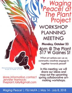 Waging Peace at the Plant Workshop Planning Meetin...