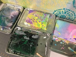 """Intro to Acrylic """"Dirty"""" Pours with Norma"""