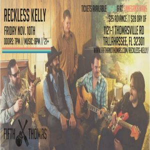 Reckless Kelly w/ The Luke Langford Band