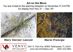 Art on the Move, first Friday art opening