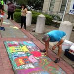 Downtown Market Sidewalk Chalk Art Contest