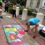 Downtown Market Sidewalk Chalk Art Contest