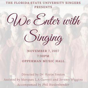 FSU University Singers Performance