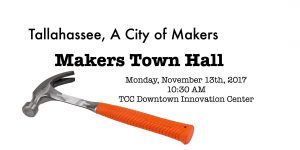 Tallahassee - A City of Makers -Makers Town Hall