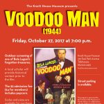 Voodoo Man (1944) outdoor screening at the Knott House Museum