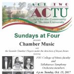 Sundays at Four -- Chamber Music