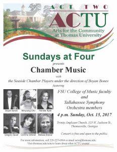 Sundays at Four -- Chamber Music