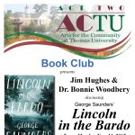 "Arts for the Community Book Club - ""Lincoln in the Bardo"""